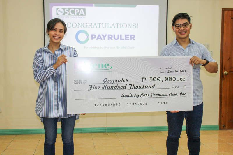 payruler receives check